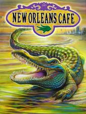 NEW ORLEANS CAFE PAINTING