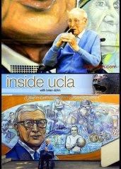 COACH JOHN WOODEN UCLA MURAL