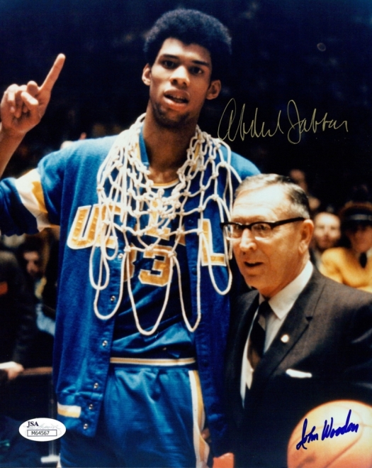 main_1-Kareem-Abdul-Jabbar-John-Wooden-Signed-UCLA-8x10-Photo-JSA-COA-PristineAuction.com