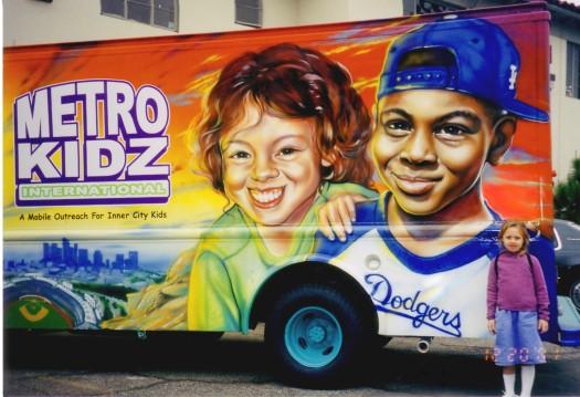 Metro Kidz-LA Dodgers stadium