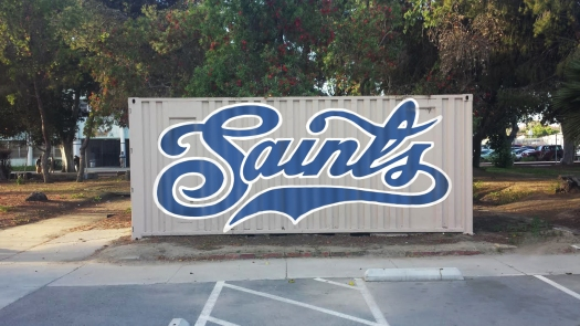 SAINTS LOGO CONTAINER - RIOS